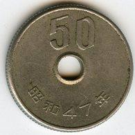 Japon Japan 50 Yen An 47 ( 1972 ) KM 81 - Japon