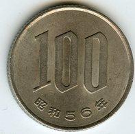 Japon Japan 100 Yen An 56 ( 1981 ) KM 82 - Japon