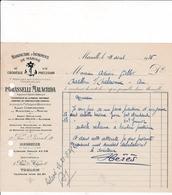 13-P.Grasselli Malacrida Manufacture D'Instruments De Marine Marseille  ( Bouches Du Rhône) 1935 - Alimentaire