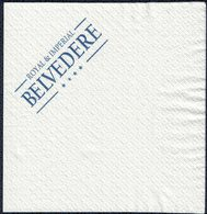 Grèce Serviette Publicitaire En Papier Advertising Paper Napkin Royal & Impérial BELVEDERE - Reclameservetten