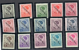 1941 Serbia Set Mint Never Hinged ** (gum Disturbed, Three Stamps With Rust Spot 0,25, 3 And 20Din) 140 Euros - Occupation 1938-45