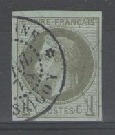Colonies Générales:  N°7 Oblitéré COCHINCHINE/SAIGON - Napoleon III