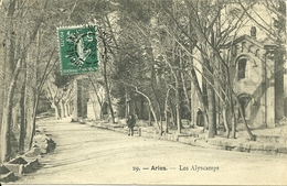 13 ARLES LES ALYCAMPS PROVENCE CAMARGUE BOUCHES DU RHONE - Arles