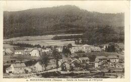 Cpa  88 Moyenmoutier , Route De Sénones Et L'hôpital , écrite 1936 - France