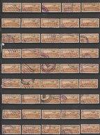 MiNr. 303, 304, 306, 307, 308, 310, 311 Guatemala, 1935, 1. Nov. Freimarken: Landschaftsbilder. Mit Aufdruck Eines Flieg - Guatemala