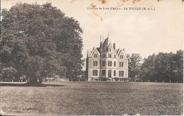 Cpa  49 La Pouëze , Château De Lozé D'Anjou , écrite - France