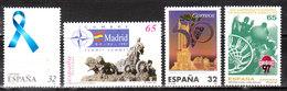 Timbres Année 1997 - 4 Bonnes Valeurs - MNH** - LOOK!!!! - 1931-Aujourd'hui: II. République - ....Juan Carlos I