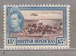 BRITISH HONDURAS Mi 117 MH (*)  #23554 - British Honduras (...-1970)