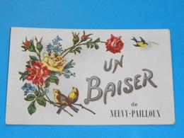 36 ) Un Baiser De Neuvy-pailloux : Année 1925 : EDIT : - France