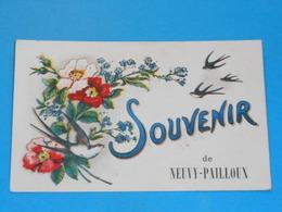 36 ) Souvenir De Neuvy-pailloux : Année 1925 : EDIT : - France