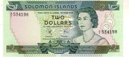 Solomon Islands P.5 2 Dollars  1977 Unc - Isola Salomon