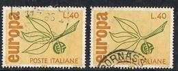 1965 - ITALIA / ITALY - EUROPA CEPT. USATO - Europa-CEPT