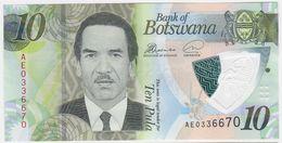 Botswana NEW - 10 Pula 2018 - UNC - Botswana
