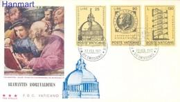 Vatican 1972 FDC ( FDC ZE2 VTC596-598b ) - Vatican
