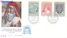 Vatican 1972 FDC ( FDC ZE2 VTC610-612a ) - Vatican