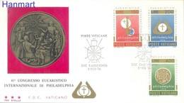 Vatican 1976 FDC ( FDC ZE2 VTC680-682a ) - Vatican