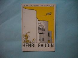 Carte Invitation  -  Vernissage  -  Henri GAUDIN -  Institut D'Architecture  -  1984  - - Inaugurations