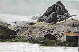 SANDALP → Berggänger Vor Schutzhütten Un Dem Spitzälpelistock Anno 1905 - GL Glaris