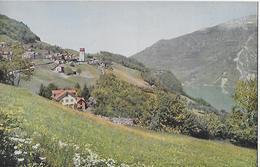 OBSTALDEN → Ein Kleines Dorf Oberhalb Des Walensee Ca.1950 - GL Glaris