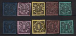"ALLEMAGNE HAMBOURG 1879 / 1914 "" Verein Hamburger Boten Th Lafrenz "" Privat Local Stamp Private Imperforat - Hambourg"
