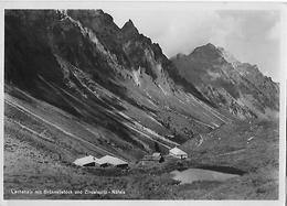 LACHENALP → Alphütten Mit Brünnelistock Und Zindelspitz 1947 ►Gasthaus-Karte◄ - GL Glaris