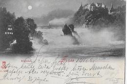 RHEINFALL → Sehr Alter Lichtdruck Anno 1898 Nach Engen DE - SH Schaffhausen