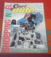 Sport Auto N°47 Décembre 1965 Renault 8 Gordini Tour De Corse , Salons Londres Turin,Volant Shell 65 Claude Vigreux - Auto/Motor