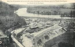 CPA 24 Dordogne Vue D'ensemble De La Nouvelle Usine électrique Calès Mauzac Près La Linde - Neuve - Francia