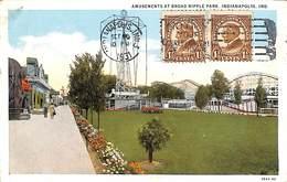 Amusements At Broad Ripple Park, Indianapolis Ind (1931) - Indianapolis
