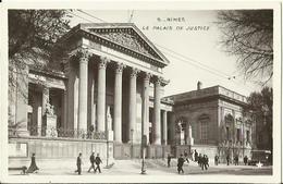 CPA De NIMES - Le Palais De Justice (marque Etoile N°5). - Nîmes
