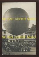 55 - BAR-LE-DUC - BALLON LA VILLE DE BAR-LE-DUC 14 JUILLET 1908 - PLACE REGGIO DEVANT LE CAFE DU CENTRE - CARTE PHOTO - Bar Le Duc