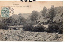 DEPT 63 : édit. C C C C N° 480 : La Bourboule Les Bords De La Dordogne ( Promenade A Dos D ânes ) - La Bourboule