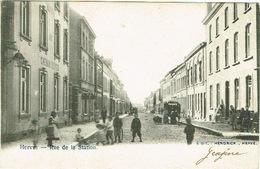 Herve , Rue De La Station - Herve