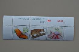 Costa Rica Bloc 3 MNH Parques Naciaonales 2005 Papillon Butterfly Passiflore Potos Flavus Parcs Nationaux - Butterflies