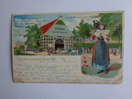 Liège - Exposition Universelle Liège 1905 - Maison Westphalienne - Belgien