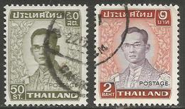 Thailand - 1979 King Bhumibol Used    Sc 907-8 - Thaïlande
