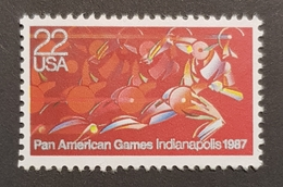 1987 Pan American Games,, United States Of America, USA, Used - Etats-Unis