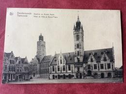 België Belgique Belgien Belgium  Dendermonde. Stadhuis En Groote Markt - Dendermonde