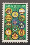1987 Girl Scouts, United States Of America, USA, Used - Etats-Unis