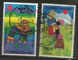 Thailand - 1980 Children's Day Used    Sc 909-10 - Thailand