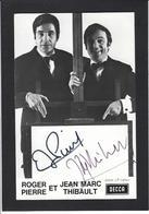 Autographe Signature à L'encre Roger Pierre Jean Marc Thibault - Autographes