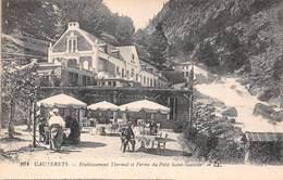 Cauterets (65) - Etablissement Thermal Et Ferme Du Petit Saint St Sauveur - Cauterets
