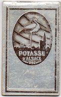 Petit Carnet Pub Potasse D' Alsace - Couverture Argentée    (110114) - Advertising