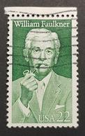 1987 William Faulkner,  United States Of America, USA, Used - Etats-Unis