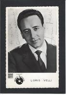Autographe Signature à L'encre Artiste Loris Velli - Autographes