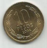 Chile 10 Pesos 2004. - Chili