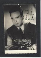Autographe Signature à L'encre Artiste Nino Nardini - Autographes