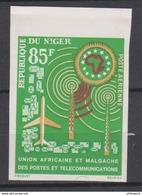 Niger 1963  PA27  Union Africaine Et Malgache Des Postes Et Telecommunications  Imperf MNH - Poste