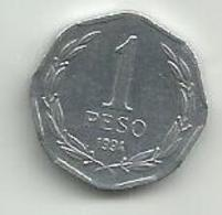 Chile  1 Peso 1994. - Chile