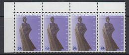 Australia 1989  Birthday Queen Elizabeth 1v Strip Of 4 (corner) ** Mnh (41356A) - 1980-89 Elizabeth II